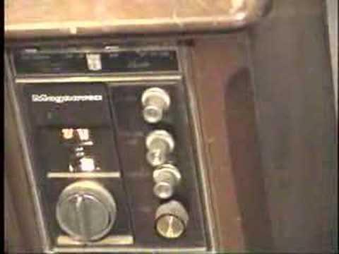 1968 Magnavox T933 Remote Control Tube Type Color Tv
