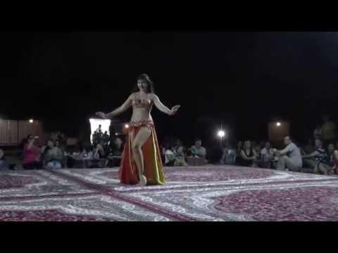 Abu Dhabi, UAE   Desert Trip #11 Belly Dancer   24 April 2015