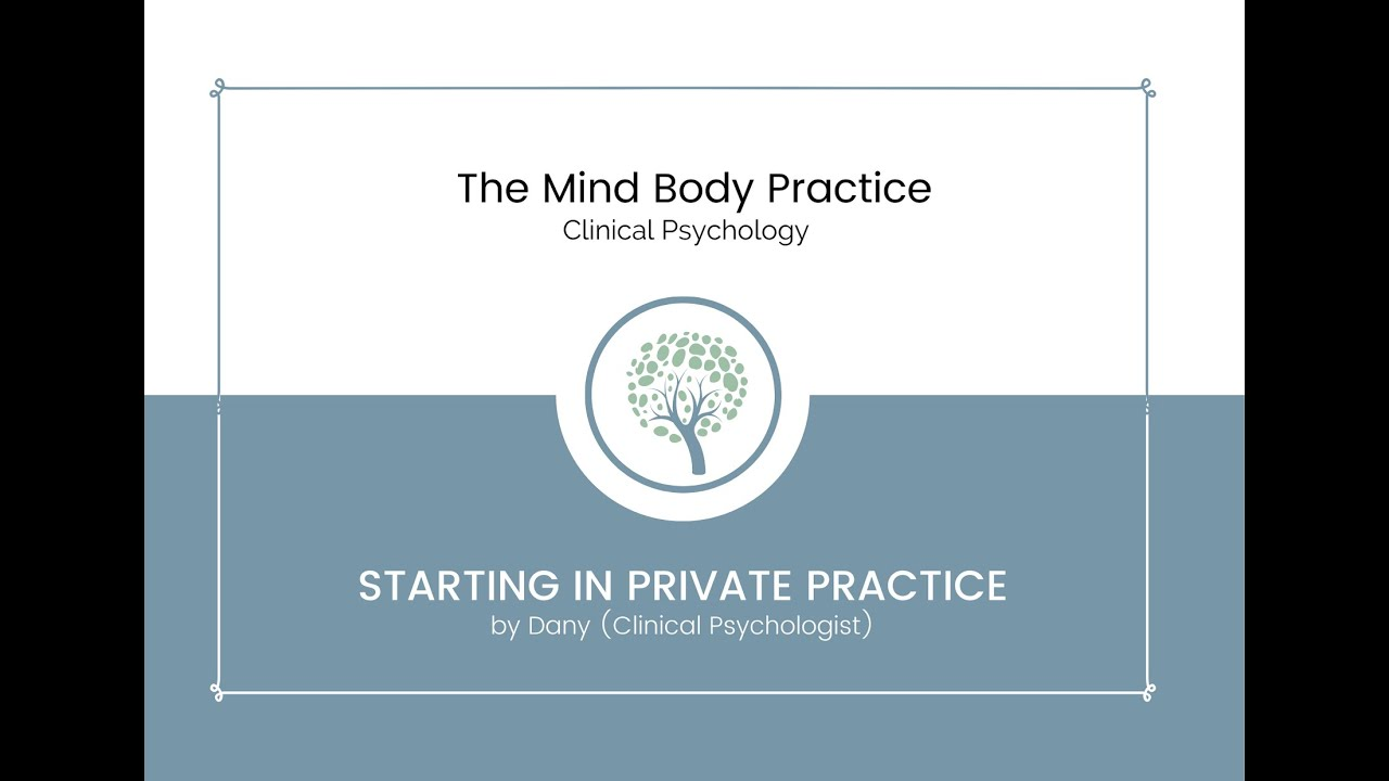Starting in Private Practice with Dany Aboumelhem