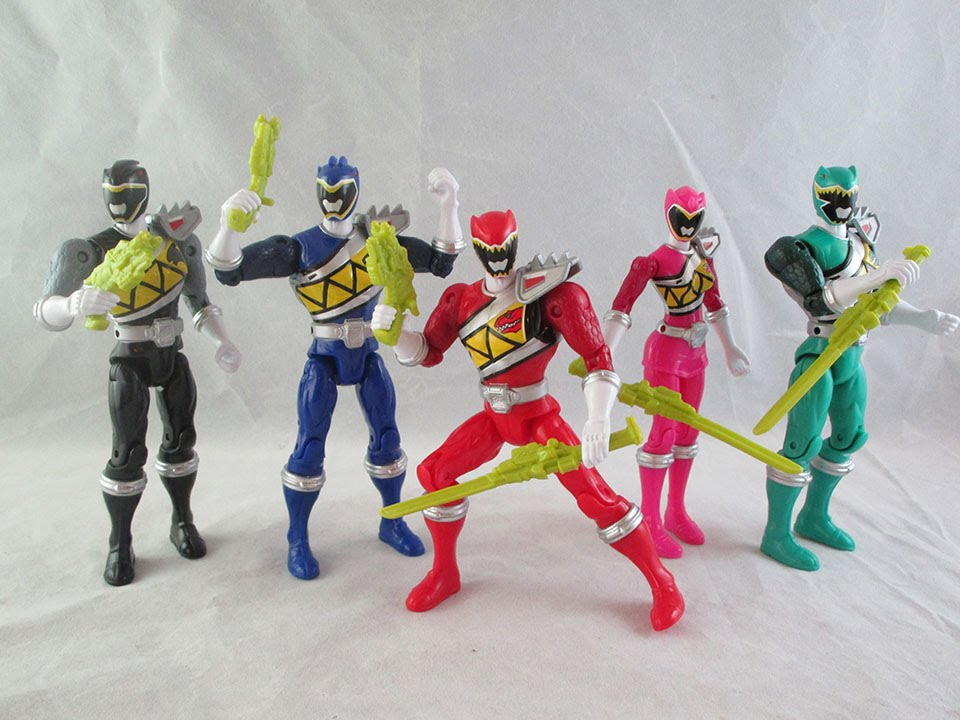 power rangers dino charge 5 action hero figures wave 1 review youtube. Black Bedroom Furniture Sets. Home Design Ideas