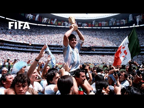 1986 WORLD CUP FINAL: Argentina 3-2 Germany FR