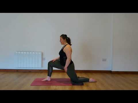 Yoga Osteo Hip Flexor Stretch