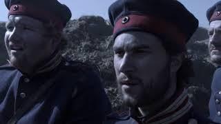 1864 Danish infantry gank Prussian military band (English subtitles)