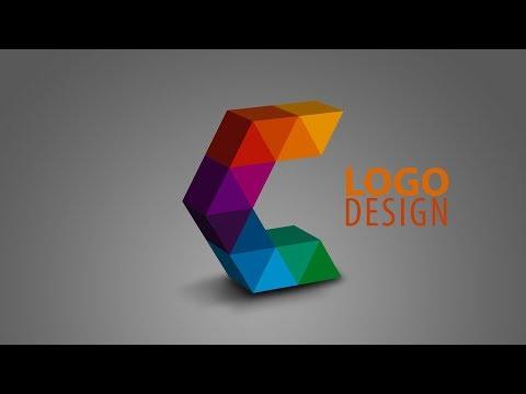 Illustrator & Photoshop Tutorial | 3d Logo Design | creative