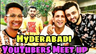 Hyderabadi Youtubers meet - Baigan Vines ||Warangal diaries || Imran khan immi