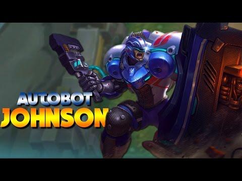 Mobile Legends NEW HERO AUTOBOT JOHNSON!