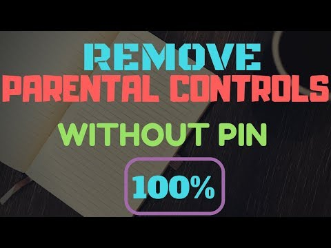 how-to-turn-off-parental-controls-without-pin-||-100%-working
