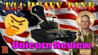 WT: T34 Heavy Tank Super Unicorn Review