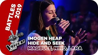 Imogen Heap - Hide And Seek (Magbule, Nino, Lara) | Battle | The Voice Kids 2019 | SAT.1