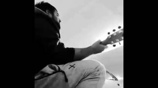 Burn by usher (guitar and singing cover)