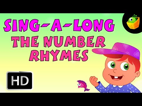 Karaoke: The Number Rhymes - Songs With Lyrics - Cartoon/Animated Rhymes For Kids