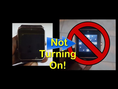 GT08, U8 or DZ09 Smartwatch won't turn on Fix