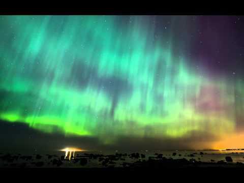 Aurora Borealis, 17 March 2015, Estonia, Tilgu beach