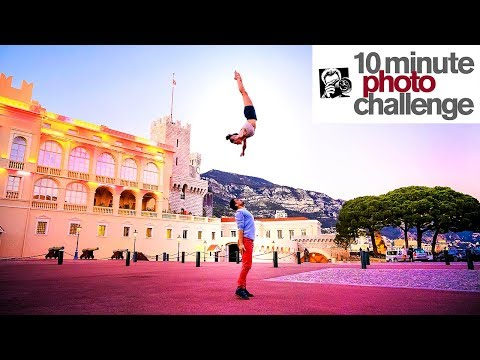Extremely INSANE Cirque du Soleil 10 Minute Photo Challenge (Don't try this!)