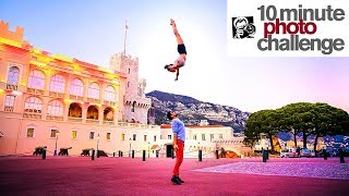 Extremely INSANE Cirque du Soleil 10 Minute Photo Challenge (Don\'t try this!)