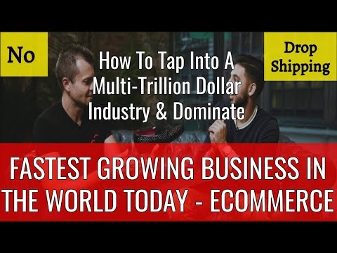 How To Start An eCommerce Business Online & Dominate - No Drop Shipping - 100% Free Course