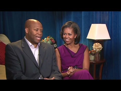 Exclusive Interview: First lady Michelle Obama says she enjoys campaigning