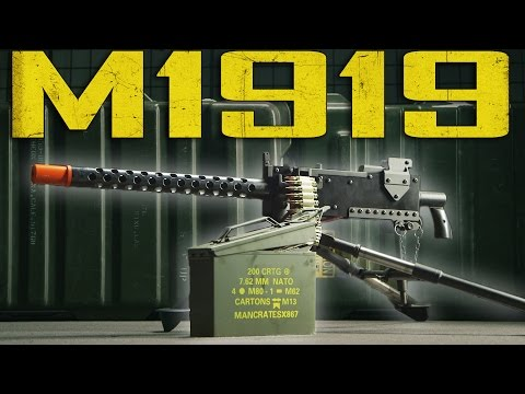 Redwolf M1919 Overview - Airsoft GI