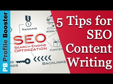 SEO Content Writing - 5 Tips for a Rock Solid Foundation