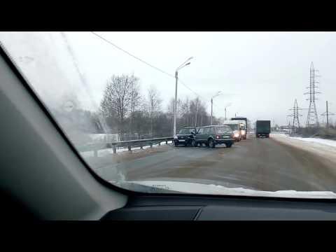 Авария г.Волгореченск 26.12.2017