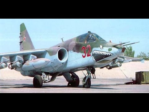 Legendary airplanes, SU-25 Fire-spitting Rook
