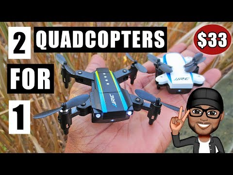 JJRC H345 Foldable Drone Review and Flight Test - You Get Two Quadcopters for the Price of One