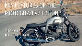 Key Features of The Moto Guzzi V7 II Stone