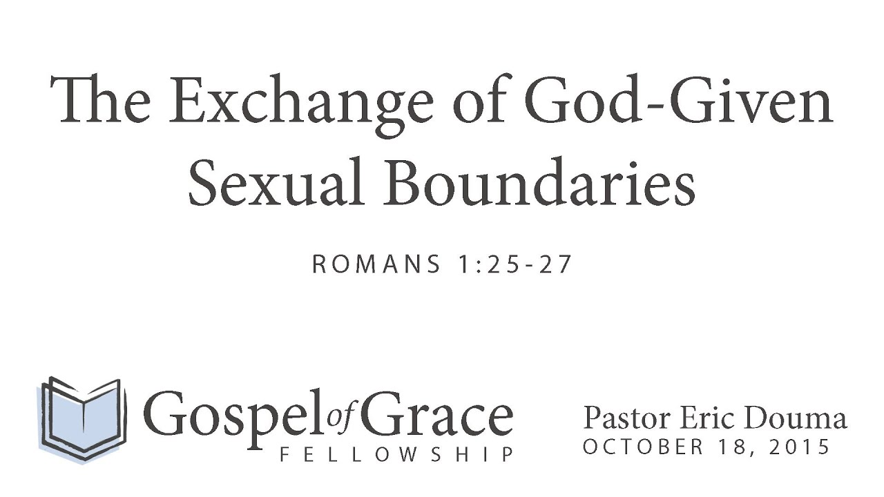 Romans 1 commentary homosexuality and christianity