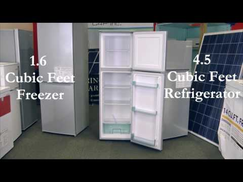 C4P X Voltray 6.1 Cu.ft. Solar DC Refrigerator