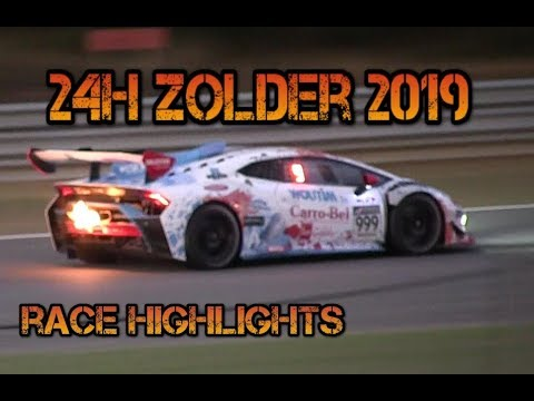 Highlights 24 Hours Of Zolder 2019: Spins & Action!