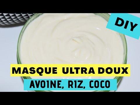 Download 🌺43. DIY│Masque au lait d'Avoine, Riz et Coco : Nourrit, Fortifie et Démêle. Tout type de cheveux