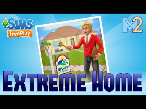 Sims FreePlay - Extreme Home Takeover Quest (Tutorial & Walkthrough)