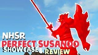 Roblox Naruto Hand Seal Revolution | PERFECT SUSANOO SHOWCASE!