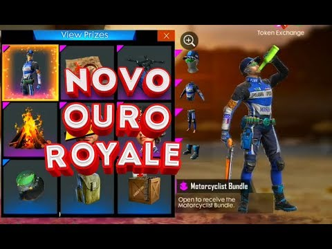 CONFIRMADO O NOVO OURO ROYALE DO FREE FIRE ! SKIN MUITO TOP !!