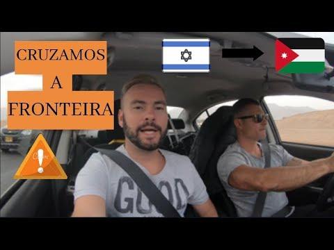 CRUZANDO A FRONTEIRA Entre ISRAEL E JORDÂNIA A PÉ