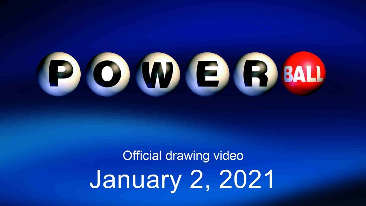 Powerball Drawing For January 2 2021 Youtube