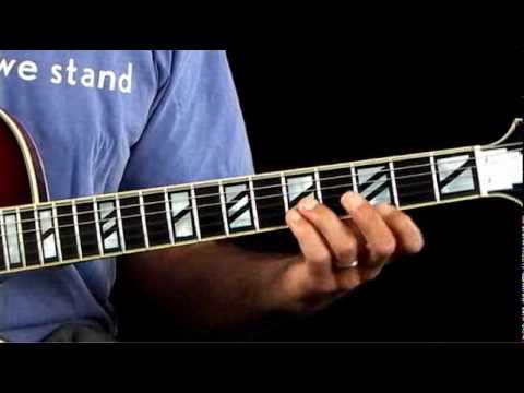 Jazz Guitar Lessons - Inversion Excursion - C Major Chord Inversions ...