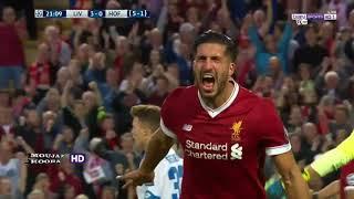ملخص اهداف مباراة ليفربول 4 2هوفنهايم   شاشة كاملة دوري الابطال