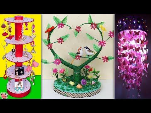 10 Best DIY Room Decor & Organization Ideas 2019 || DIY Crafts !!!