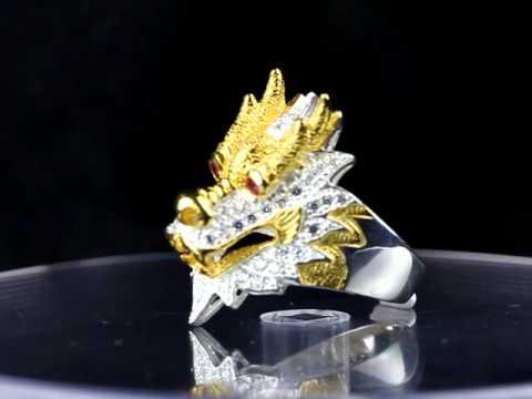 แหวนมังกร NO 3 R03001www silverpanda in th