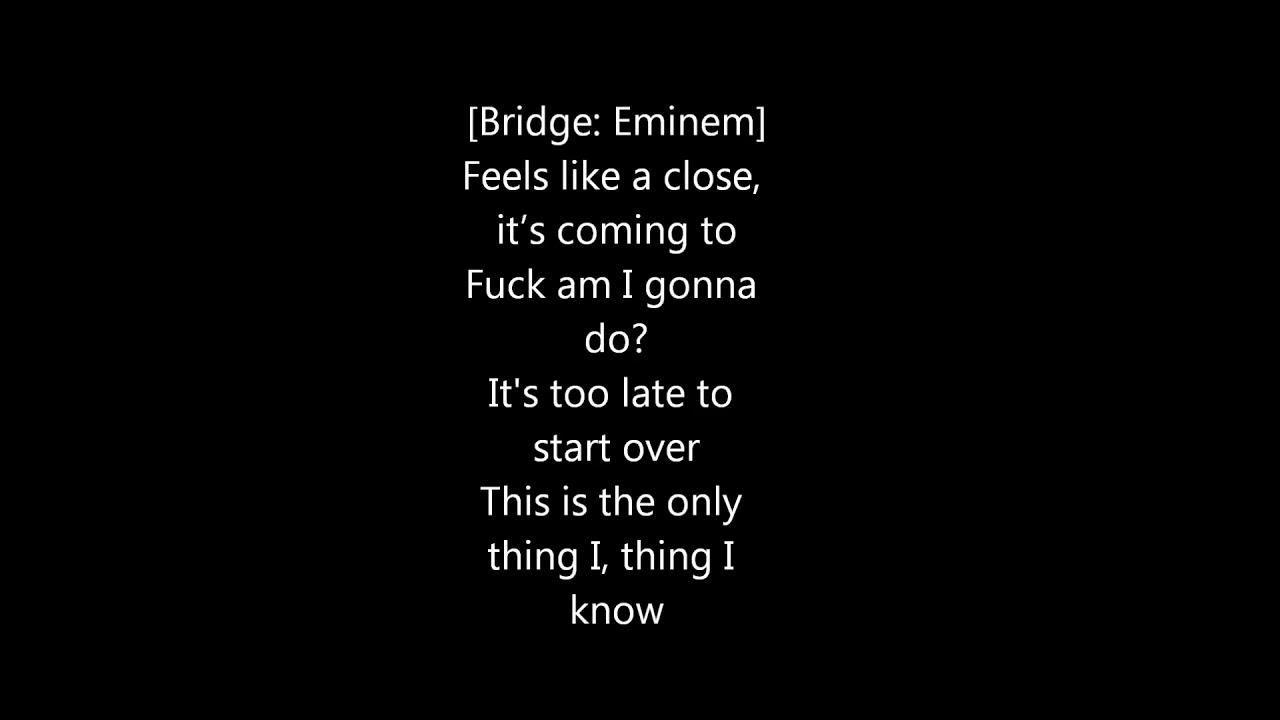 #EminemMusicEminem-Guts Over Fear Lyrics