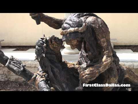 Via Dolorosa Sculpture Garden | Museum of Biblical Art | Dallas, TX