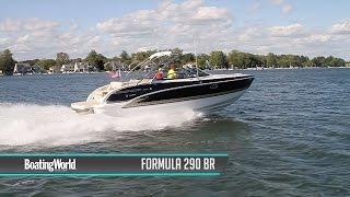 صيغة 290 BR قارب الاختبار