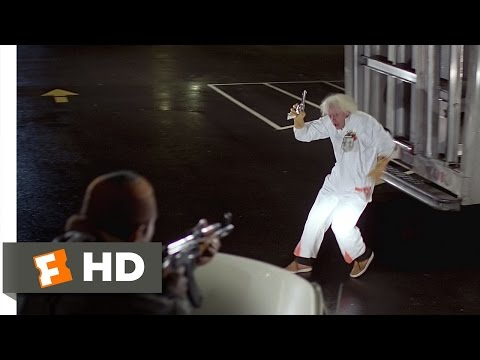 Back To The Future (2/10) Movie CLIP - The Libyans Find Doc Brown (1985) HD
