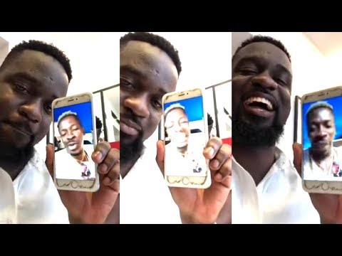 Wow...SARKODIE & SHATTA WALE crush In Facebook Live Video🤣