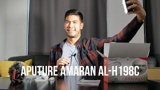 Aputure Amaran AL-H198C Review + Unboxing