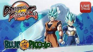 THEMED team battles! Sparring with the BlueCrew @ Dragonball FighterZ