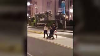 Video implicates two in Tumon brawl