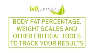 Body fat percentage, body fat calculator, weight scales and other critical tools
