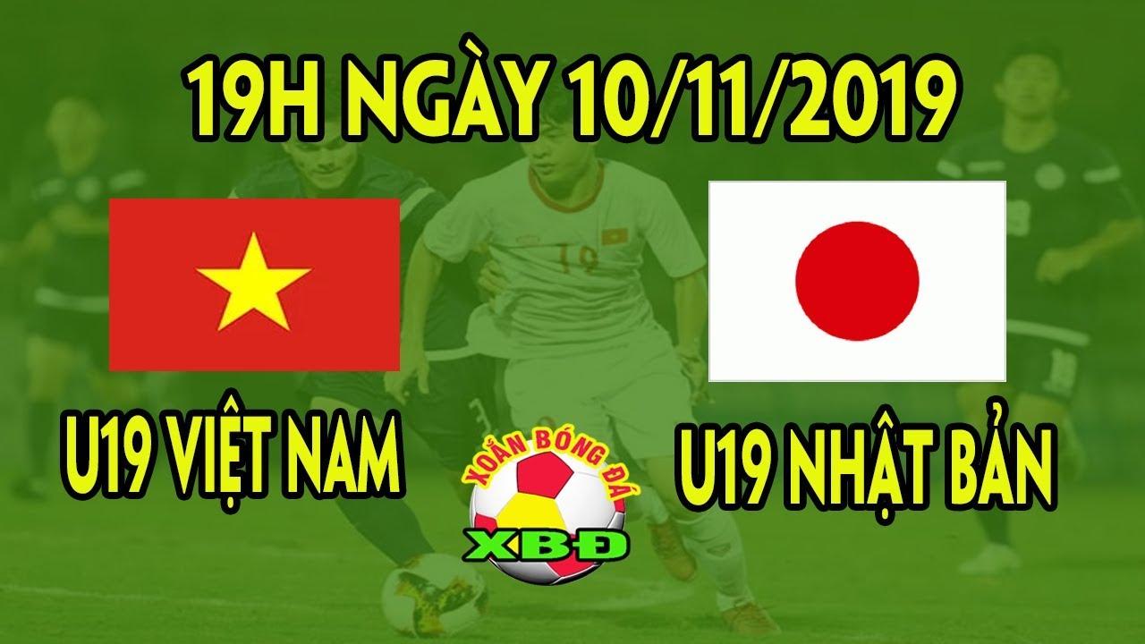 Tin Bóng Đá Việt Nam 10/11: Lịch Trực Tiếp Thi Đấu U19 Việt Nam vs U19 Nhật Bản